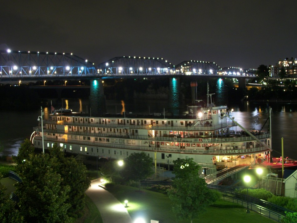 Delta Queen at Night